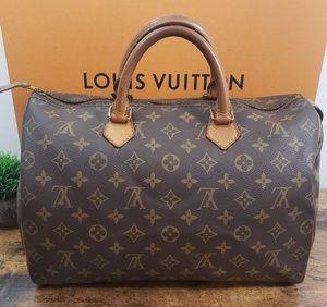🎃ON HOLD🎃 Louis Vuitton Speedy 35🎃